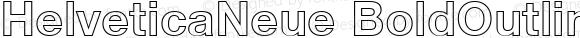 HelveticaNeue BoldOutline
