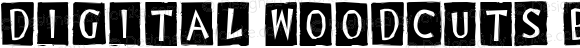 Digital Woodcuts Black ITC TT Regular Macromedia Fontographer 4.1.3 5/9/97