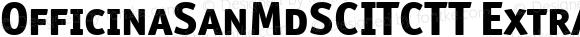 OfficinaSanMdSCITCTT ExtraBold Version 1.00