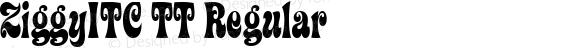 ZiggyITC TT Regular Macromedia Fontographer 4.1.3 10/23/96