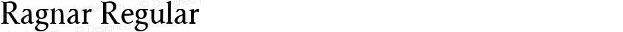 Ragnar Regular Macromedia Fontographer 4.1.4 01‐11‐17