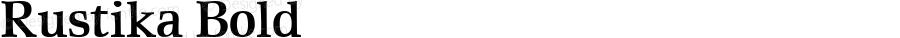 Rustika Bold Macromedia Fontographer 4.1.4 01‐11‐17