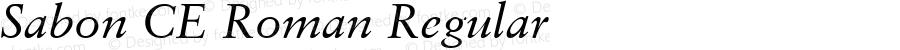 Sabon CE Roman Regular 001.002