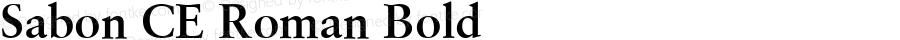 Sabon CE Roman Bold 001.002