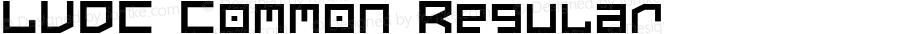 LVDC Common Regular Macromedia Fontographer 4.1J 02.9.11