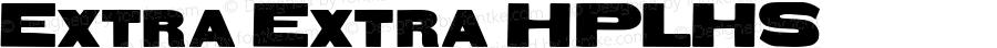Extra Extra HPLHS Macromedia Fontographer 4.1.4 10/9/02