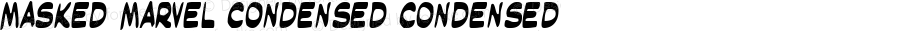 Masked Marvel Condensed Condensed Version 1.0; 2002; initial release