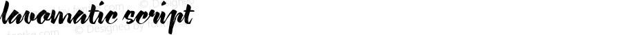 lavomatic script Macromedia Fontographer 4.1.5 22/07/02