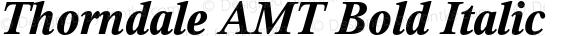 Thorndale AMT Bold Italic OTF 1.009;PS 001.000;Core 1.0.32;makeotf.lib1.4.3831