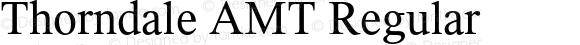 Thorndale AMT Regular OTF 1.003;PS 001.000;Core 1.0.32;makeotf.lib1.4.3831