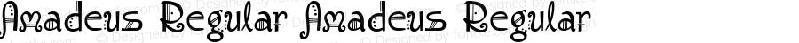 Amadeus Regular Amadeus Regular 1.0