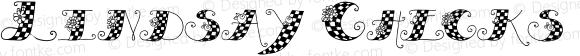 Lindsay Checks Regular Macromedia Fontographer 4.1.5 12/22/99