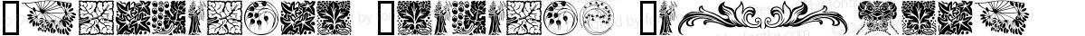 Ornamental Elements Regular