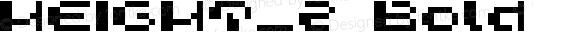 HEIGHT_2 Bold Macromedia Fontographer 4.1J 03.1.24