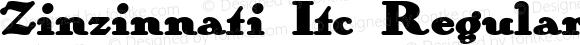 Zinzinnati Itc Regular Converted from e:\nickfo~1\ZI______.TF1 by ALLTYPE