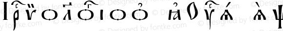Irmologion kUcs SpacedOut Version 2003.02.15