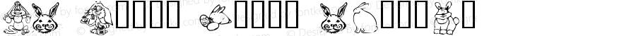 KR Bunny Dings Regular Macromedia Fontographer 4.1 4/13/03