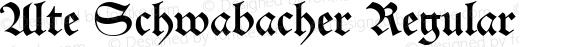 Alte Schwabacher Regular Version 2.5; 2002