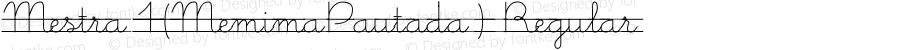 Mestra1(MemimaPautada) Regular SFG:17/10/99