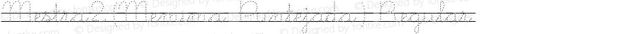 Mestra2(Memima Puntejada) Regular SFG:17/10/99