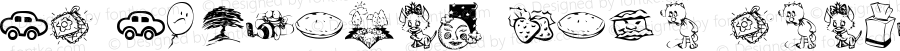 KR Katlings Five Regular Macromedia Fontographer 4.1 5/3/03