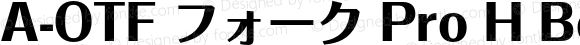 A-OTF フォーク Pro H Bold OTF 1.001;PS 1;Core 1.0.33;makeotf.lib1.4.1585
