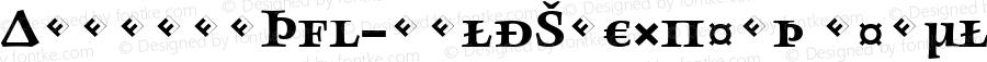AngkoonTF-BoldSCExpert Regular Version 4.452 2003