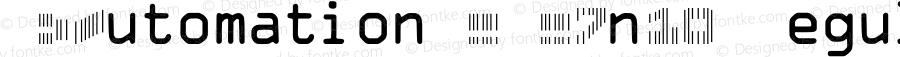 IDAutomationSCMC7n10 Regular OTF 3.700;PS 003.007;Core 1.0.34