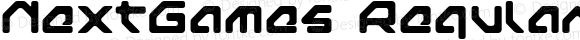 NextGames Regular Macromedia Fontographer 4.1J 03.7.24