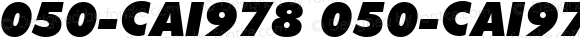 050-CAI978 050-CAI978 Version 1.00 January 3, 1999, initial release
