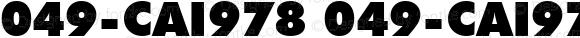 049-CAI978 049-CAI978 Version 1.00 December 31, 1998, initial release