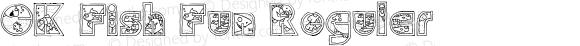 CK Fish Fun Regular Macromedia Fontographer 4.1 7/18/2003
