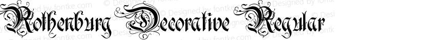 Rothenburg Decorative Regular Preview Image