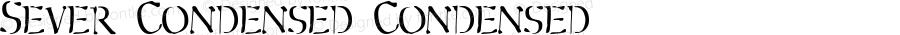 Sever Condensed Condensed 2