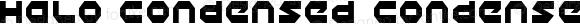 Halo Condensed Condensed