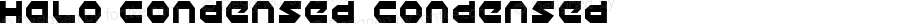 Halo Condensed Condensed 2