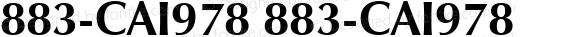 883-CAI978 883-CAI978 883-CAI978