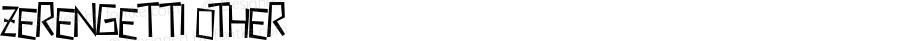 Zerengetti Other Macromedia Fontographer 4.1 10/5/00