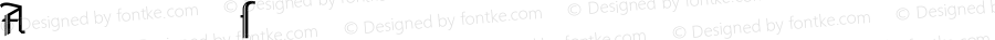 AmherstGothicSplit LT Std RgAlt Regular Version 1.000;PS 001.000;Core 1.0.38