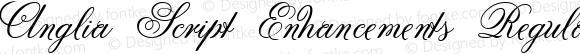 Anglia Script Enhancements Regular Macromedia Fontographer 4.1 22.11.2002