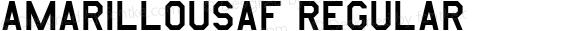 AmarilloUSAF Regular Altsys Fontographer 4.0.3 14.03.1995