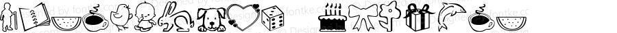 ScrapiCons Regular Macromedia Fontographer 4.1 7/8/01