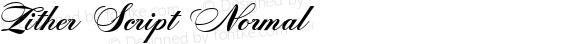 Zither Script Normal 1.0 Thu Dec 14 18:24:30 2000