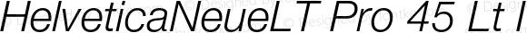 HelveticaNeueLTPro-LtIt