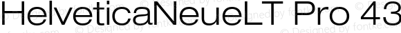 HelveticaNeueLTPro-LtEx