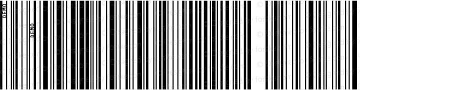 IDAutomationSC128XL Regular OTF 3.700;PS 003.007;Core 1.0.34
