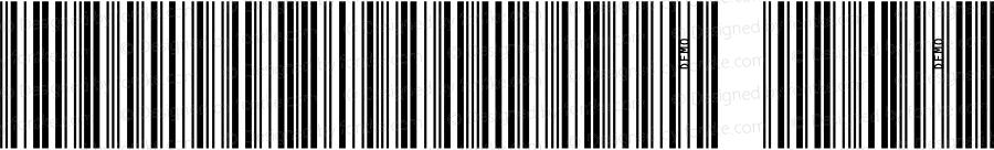 IDAutomationSI25L Regular OTF 3.700;PS 003.007;Core 1.0.34