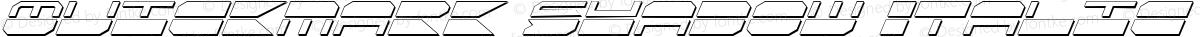 Quickmark Shadow Italic Shadow Italic