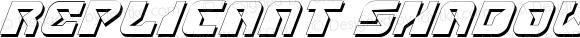 Replicant Shadow Italic Shadow Italic