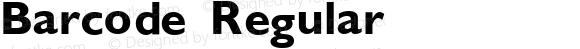 Barcode Regular